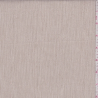 Taupe/Ivory Pinstripe Shirting