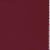 Ruby Wine Satin Back Crepe