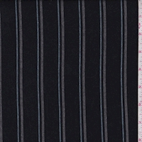 Navy/Grey/Blue Stripe Twill