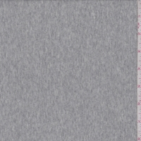 Heather Grey Jersey Rib Knit