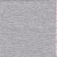 Heather Grey Brushed Sweater Knit
