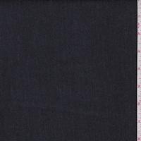 Dark Navy Pinstripe Stretch Denim