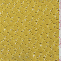 *2 1/2 YD PC--Yellow Gold Puckered Novelty Knit