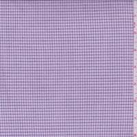 *1 3/8 YD PC--Pink Mini Check Suiting