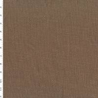 *1/2 YD PC--Chocolate Brown Cotton Basketweave Home Decorating Fabric