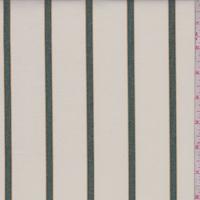 Cream/Jade Stripe Oxford