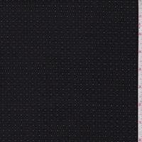 Black/Grey Pinstripe Dobby Jacketing