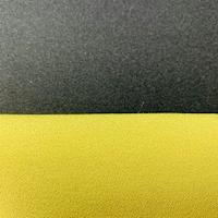 Black/Dill Reversible Crepe Suiting