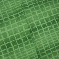 Garden Green Wool Blend Abstract Tile Printed Double Knit