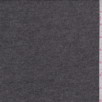 Dark Heather Charcoal Jersey Sweater Knit