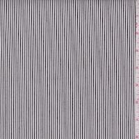 Slate/White Stripe Cotton