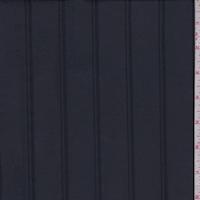 Navy Satin Stripe Lining