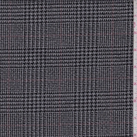 Grey/Black Glenplaid Jacketing