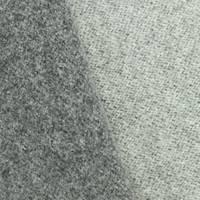 *1 3/4 YD PC--Stone Gray Wool Blend Doubleweave Jacketing