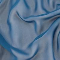 *1 YD PC--Ink Blue Silk Chiffon