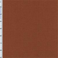 *2 YD PC--Smoked Orange Paprika Slub Woven Home Decorating Fabric