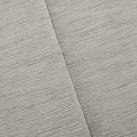 *2 YD PC--Misted Gray/Beige Textured Slub Chenille Decorating Fabric
