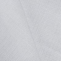 *1 1/2 YD PC--White Textured Dobby Chenille Home Decorating Fabric