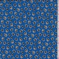 *4 YD PC--ITY Sapphire Mini Daisy Jersey Knit