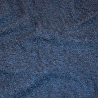 *3 1/4 YD PC--Shaded Blue Semi-Opaque Textured  Pique Knit