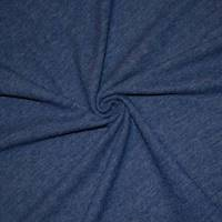 *3 1/4 YD PC--Harbor Blue Brushed Jersey Knit