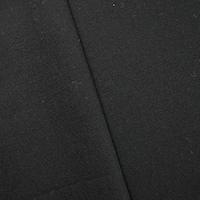 Black Wool Blend Crepe Dobby Woven Jacketing