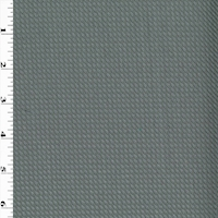 Sterling Silver Wool Blend Woven Twill Suiting