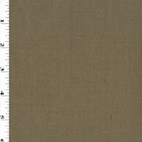 Deep Bronze/Brown Wool Blend Woven Twill Suiting