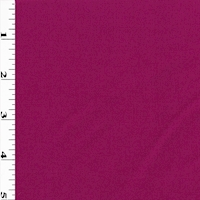 Magenta Pink Wool Blend Woven Brushed Twill Suiting