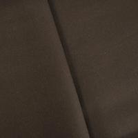 Mocha Brown Wool Blend Double Woven Coating