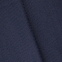 Deep Lagoon Blue Wool Striped Woven Suiting