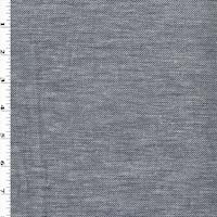 Dark Blue/White Woven Cotton Twill
