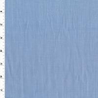 Soft Blue/White Cotton Woven Shirting