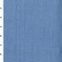 Pure Blue/White Cotton Woven Shirting