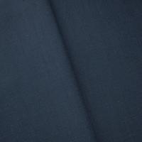 Midnight Blue Cotton Blend Semi-Opaque Woven Shirting