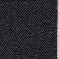 Charcoal Tweed Herringbone Jacketing