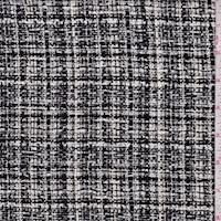 Black/White/Grey Boucle Jacketing