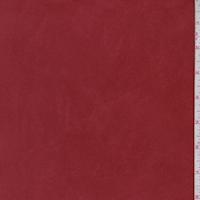 Sienna Red Microsuede Knit