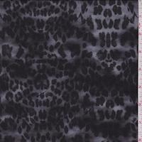 Pewter/Black/Mist Cheetah Print Faille