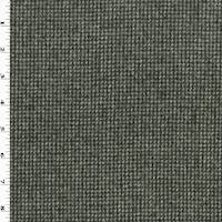 *4 YD PC--Black/White Wool Blend Texture Houndstooth Jacketing