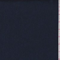 *1 5/8 YD PC--Ink Blue Muted Pinstripe Suiting