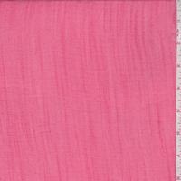 *1 5/8 YD PC--Hibiscus Pink Linen Look
