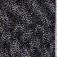 Black Wave Mini Sequin Mesh