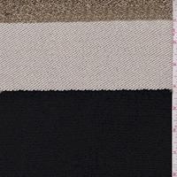 Black/Gold/Beige Stripe Boucle Jacketing