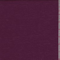 *2 1/2 YD PC--Dark Magenta Brushed Jersey Knit