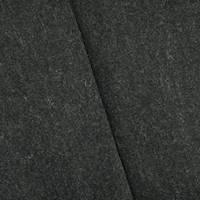 *1 1/2 YD PC--Night Gray Wool Blend Twill Jacketing