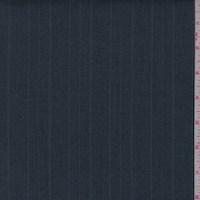 *1 7/8 YD PC--Slate Blue Herringbone Stripe Suiting