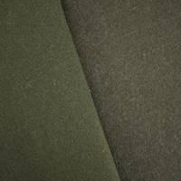 *7/8 YD PC--Dark Chocolate Wool Blend Twill Doubleweave Jacketing