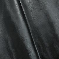 Onyx Black Textured Bonded Vinyl Home Decorating Fabric
