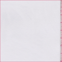 *1 7/8 YD PC--White French Terry Knit